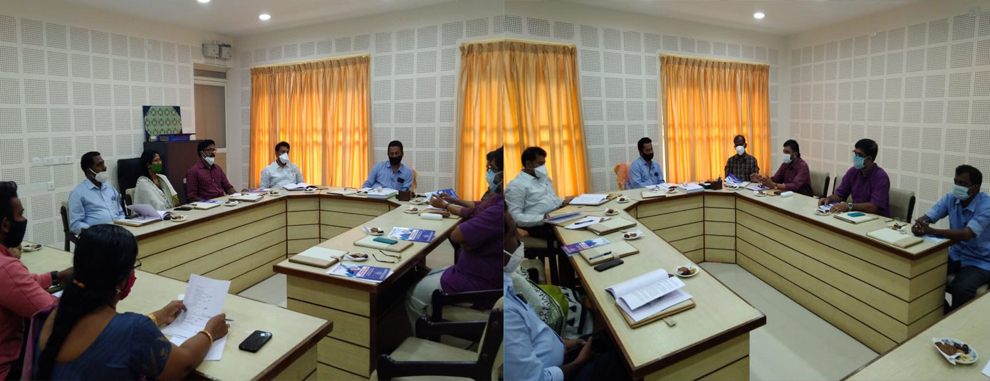 IHRD- NSS Advisory Committee Meeting held on 03/12/2020 at IHRD HQs, Chakkai, Thiruvananthapuram